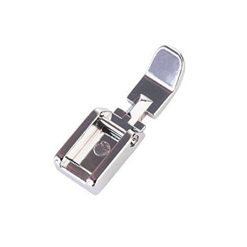 BinaryABC Durevole estrecha Clip-on cremallera Zipper prensatelas para el hermano/Cantante/Nuova Casa/Janome/Toyota