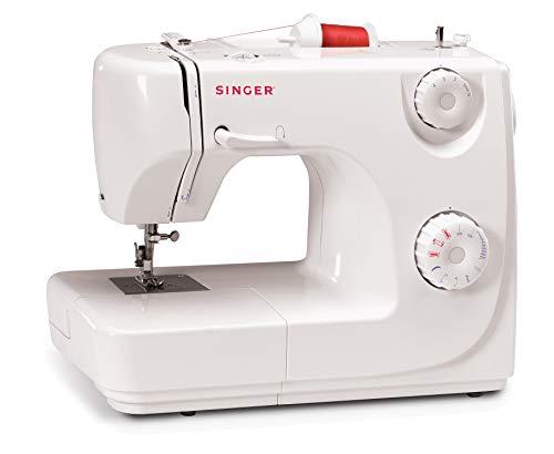 Singer 8280 - Máquina de coser automática, 8 puntadas, color blanco