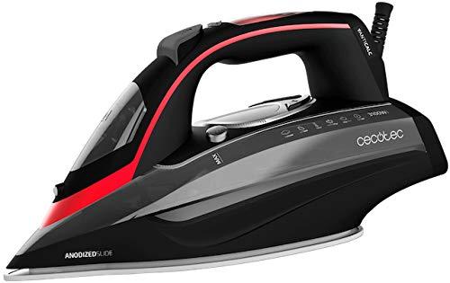 Cecotec 3D ForceAnodized 950 Smart i-Pump, Centro de planchado compacto, Gran potencia de 3100 W, Golpe de vapor 230 g/min, Suela Anodizada, Vapor continuo 65 g/min, Depósito de 400 ml, Pantalla LCD
