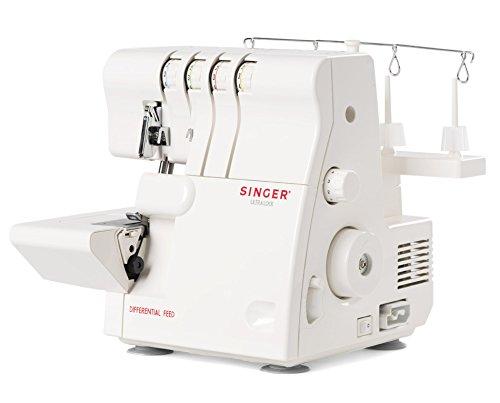Singer 14SH654 - Remalladora, 1300 ppm, Color Blanco
