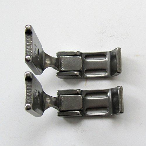kunpeng–Prensatelas para 1/4'(6mm) 2Aguja Cremallera pie para Singer 112, 212# 259635–1/4(2pcs)