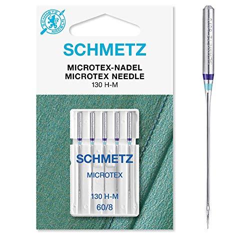 Agujas Microtex de Schmiz.