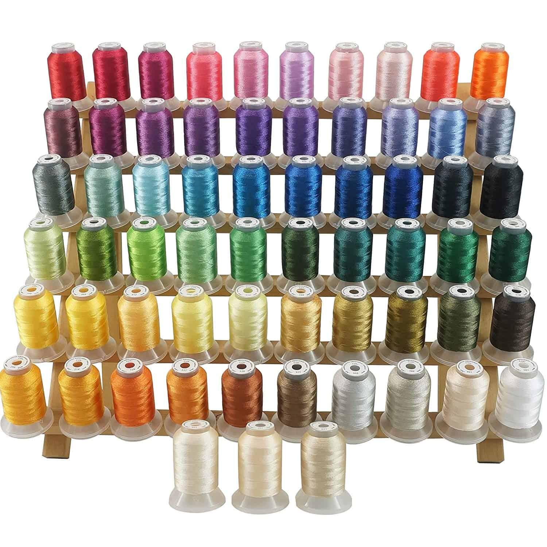 12 Varios Colores Carretes 30m H998 Hemline Hilo de Coser 100/% Poliéster