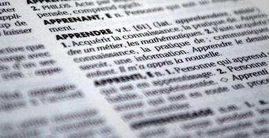 diccionario de costura