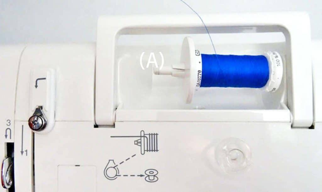 como enhebrar una maquina de coser 1