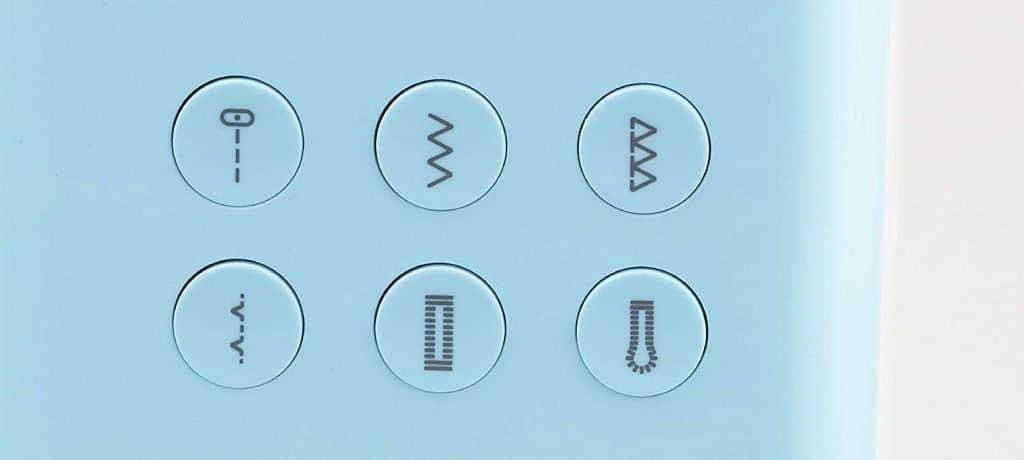 puntadas incorporadas maquinas de coser portatil