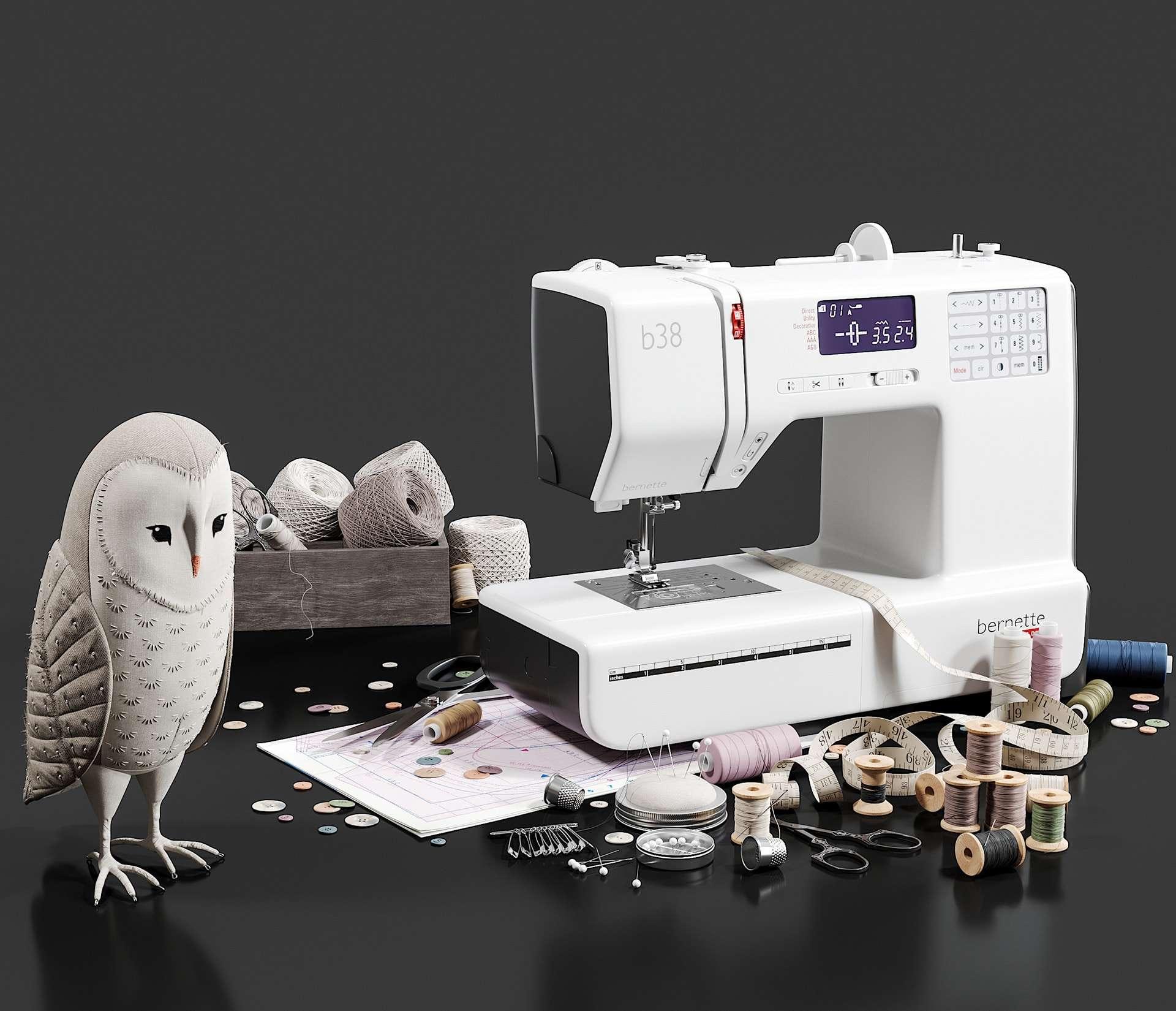 Remalladora vs. Máquina de coser: ¿Cuál es el adecuado