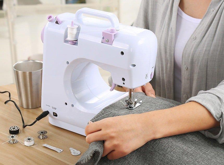 Remalladora vs. Máquina de coser beneficios maquina de coser