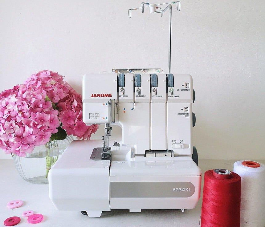 Remalladora vs. Máquina de coser top 7 remalladoras
