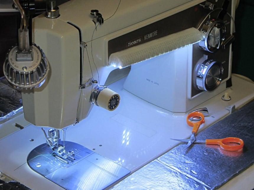 Solución de problemas de las máquinas de coser kenmore