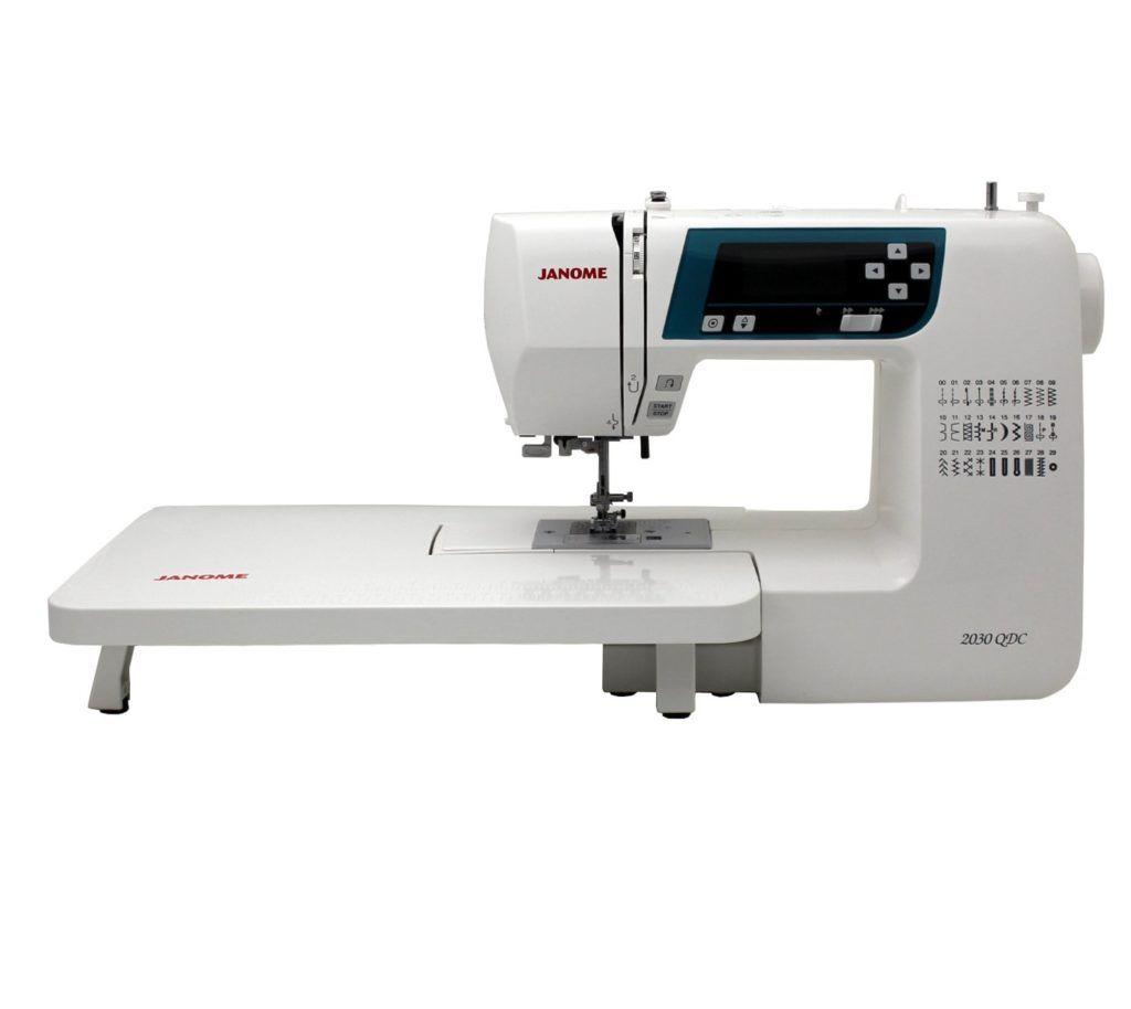 Máquina de coser y acolchar computarizada Janome 2030QDC-B