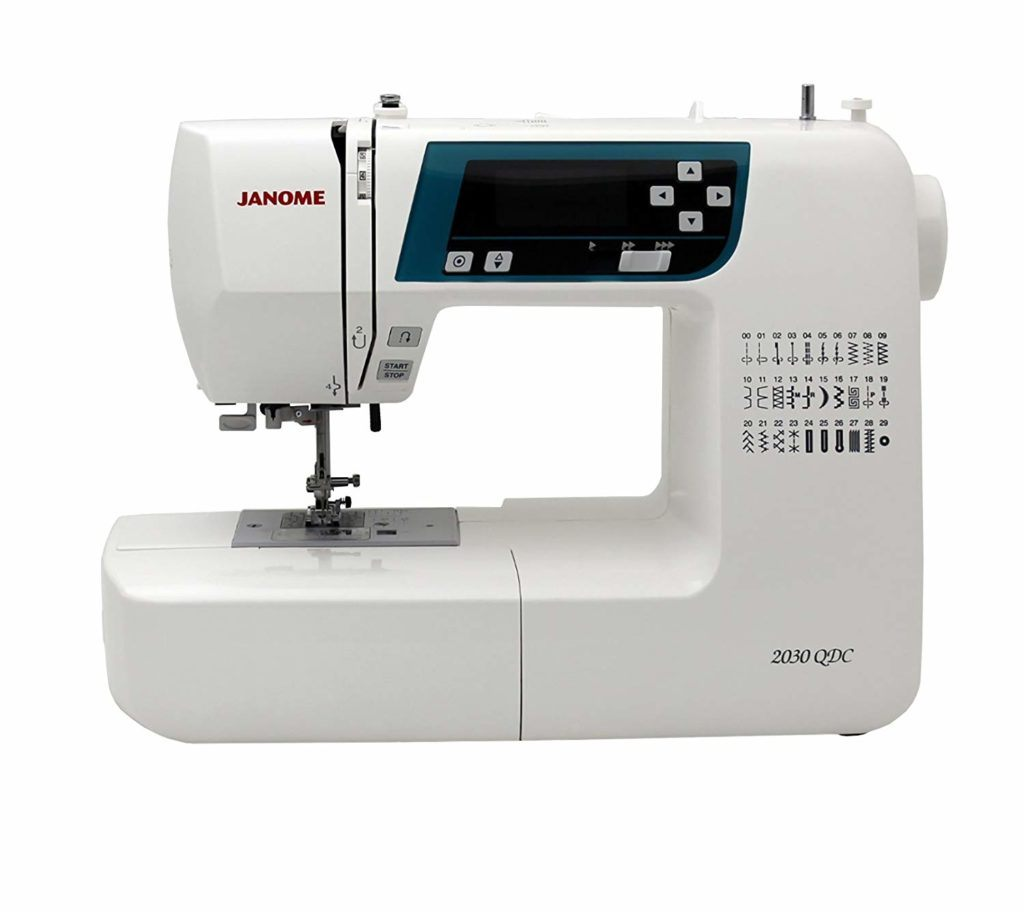 La mejor máquina de coser para acolchar.