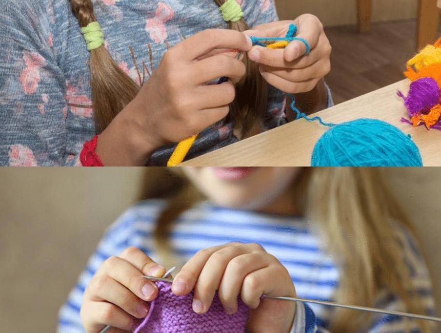 Tejer vs Crochet: ¿Qué pasatiempo creativo se adapta mejor a ti?